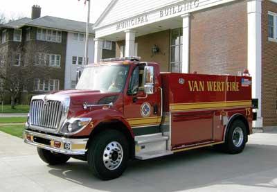 Van Wert (OH) Fire Department
