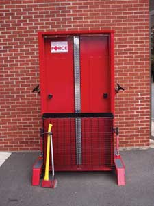 Friction Force's FORCIBLE ENTRY SIMULATOR
