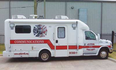 Dodgen Mobile Technologies REHAB AND COMMUNICATIONS VEHICLES