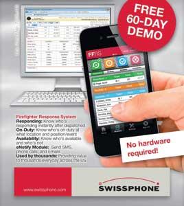 Swissphone's FIREFIGHTER RESPONSE SYSTEM