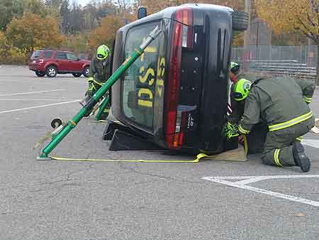 Vehicle Rescue Building Blocks: Stabilize the Vehicle