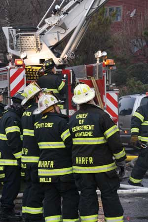 (5) As an officer and especially if you are a chief, it is your job to set a proper example all the time. Start by wearing your gear. (Photo by Ron Jeffers.)
