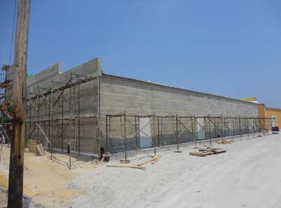 (4) A newer one-story taxpayer under construction