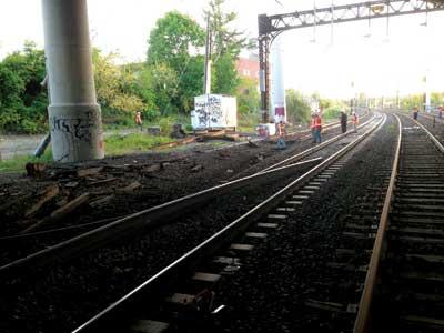 track damage