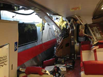 interior eastbound passenger compartment