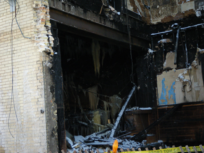 Another view of the first floor of the same building. Photo by Greg Havel.