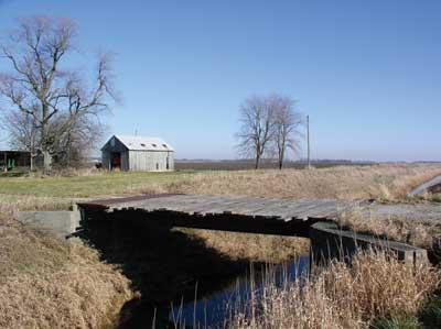 farm bridge looks solid