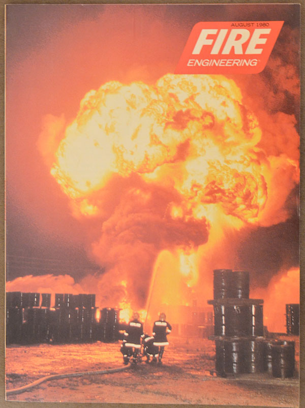 Fire Engineering cover, August 1980