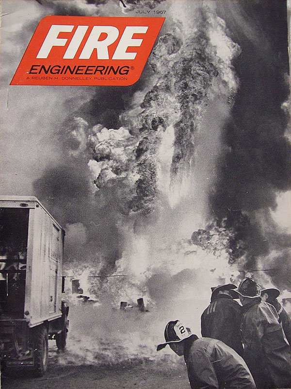 Fire Engineering cover, July 1967