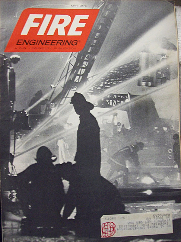 Fire Engineering Cover: May 1973