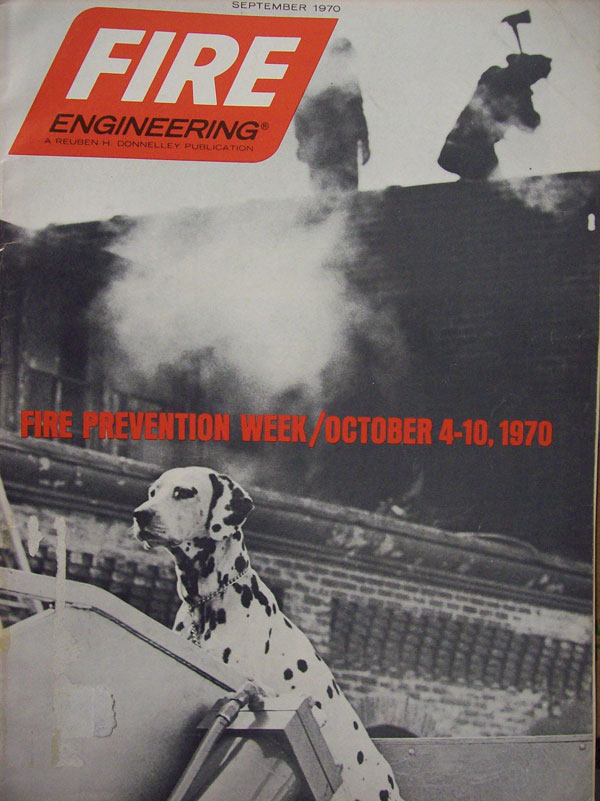 Fire Engineering Cover: September 1979