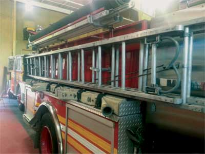 (1) The 14- and 24-foot ground ladders on an engine company tend to get the least attention at an incident scene and training exercises