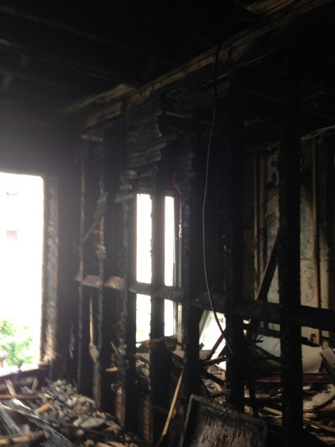 Five investigation: Fire room