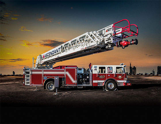 Pierce Manufacturing is featuring 11 fire and emergency apparatus at Lucas Oil Stadium – booth 8835 – during the Fire Department Instructors Conference.