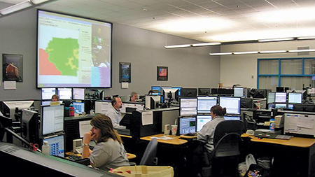 (3) Mobile data terminals allow responding units to change their statuses and receive updates on the incident without tying up radio time. (4) Newer dispatch centers have become computerized, minimizing radio traffic and increasing the efficiency of the responding units.