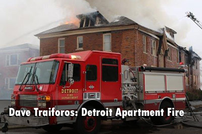 One firefighter suffered burns to his face and was transported during this incident.