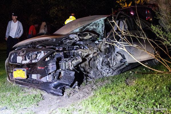 Vehicle Extrication: Firefighters Respond to Riga (NY) Vehicle Crash