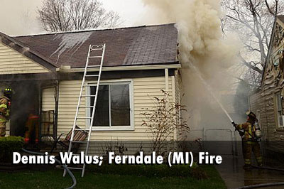 Stretched-thin Ferndale crews and mutual aid companies responded to this recent dwelling fire.