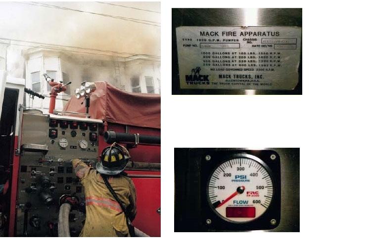 Fire apparatus pump panel