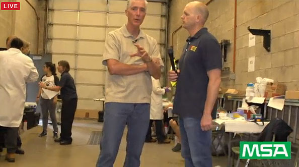 Bobby Halton and Erich Roden at the IFSI experiments.