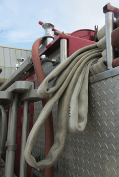 This is the opposite side of the hose load depicted in photo 2.