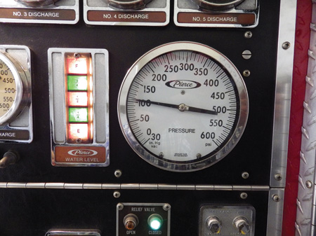 Throttle up slowly to the desired pressure.