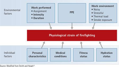 Figure 1. Factors Influencing Responses to Firefighting