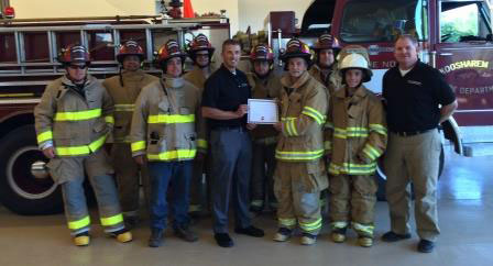 Koosharem (UT) Fire Rescue, one of the 2015 recipients in the Globe Gear Giveaway.
