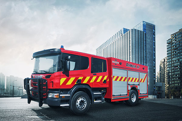 Oshkosh Fire & Emergency Group is displaying the Oshkosh® XP fire apparatus at Intersec 2016. The Oshkosh XP fire apparatus will be on display at Stand 5-D11, and represents a co-venture between Oshkosh and Scania.