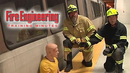 Training Minutes: Victim Trapped on Rail Platform