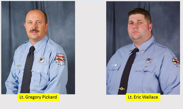 Bryan (TX) LODDs: Lt. Gregory Pickard and Lt. Eric Wallace