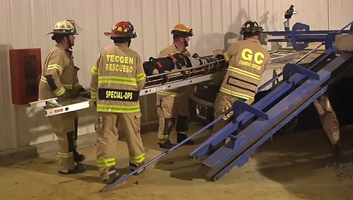 Training Minutes: Multi-Car Pileup in Highway Tunnel