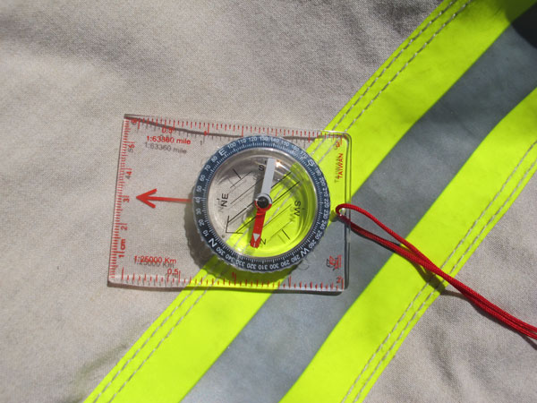 You must calibrate your compass to insure that your are traveling in the proper direction.