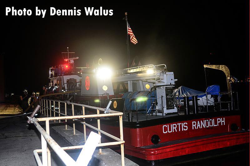 Detroit Fireboat 1, the Curtis Randolph