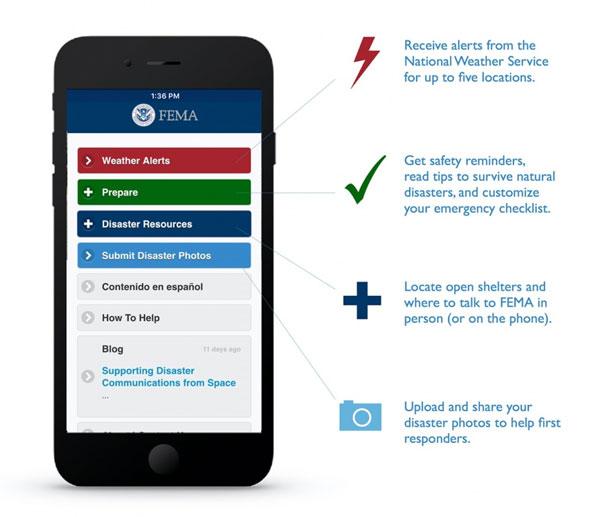 FEMA Wildfire App