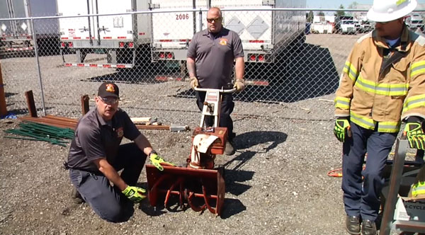 Mark Gregory and John Tew on saving a patient trapped in a snowblower