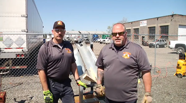 Mark Gregoy and John Tew of PL Vulcan on these rescue scenarios.
