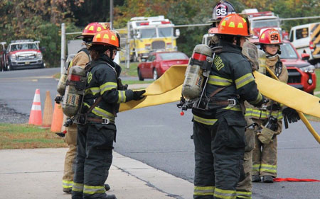 (6) Repetitive hands-on training is the best way to train junior firefighters.