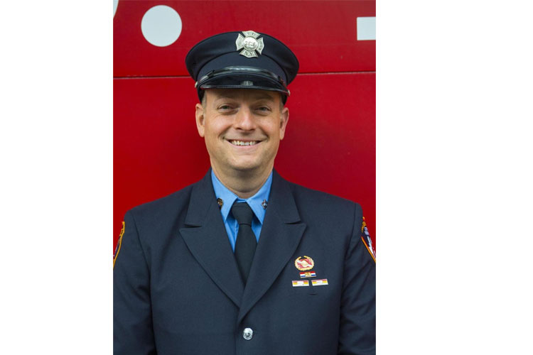 Jim Lee of the FDNY
