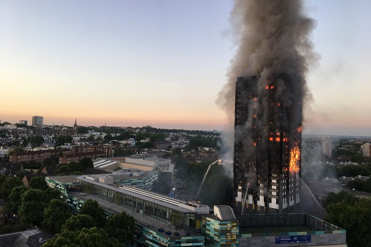 After the Grenfell Tower Fire, Brits Order Evacuation of Other High-Rise Cladding Buildings