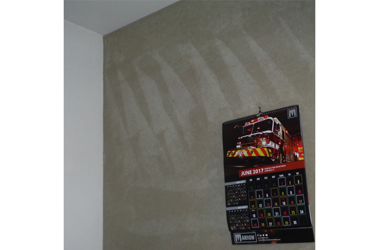 Carpeting as wall cover