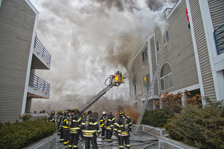 New Haven Condo Fire
