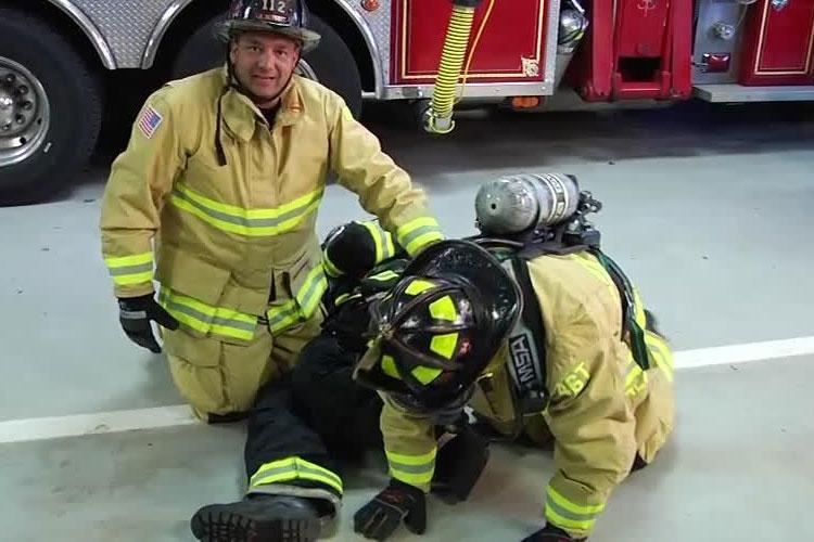 Joe Alvarez and firefighter with MSA SCBA