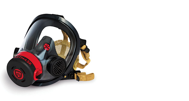The BlastMask is a training regulator engineered to simulate the sensation of breathing on air in SCBA. It is designed to function as closely to the actual regulator as possible and includes features such as spring latches and an easy air bypass valve. The bypass valve was created to operate the same way on the BlastMask as it does on the SCBA model for which it is designed to fit; it is also located on the same side and turns in the same direction to make it as true to life as possible. This way, training in a BlastMask helps develop the same muscle memory a firefighter needs when operating in his own SCBA. www.blastmask.com.