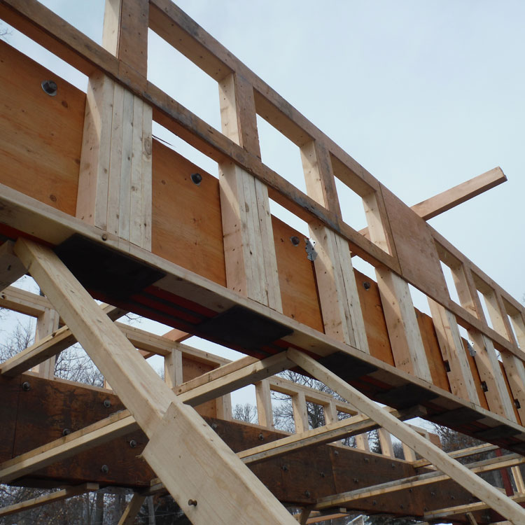 Construction Concerns: Double Flitch-Plate Girders