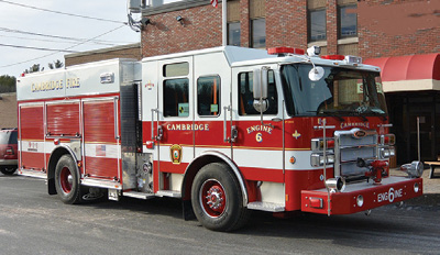 The Cambridge (MA) Fire Department protects a district that sits at the end of the Massachusetts Turnpike and has a tunnel that prohibits hazardous cargo.