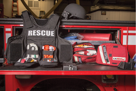 (5) Standardized equipment through the departments. (Photo courtesy of authors.)