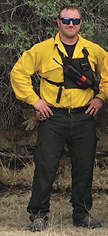 Weatherford Fire Department Firefighter Andy Loller