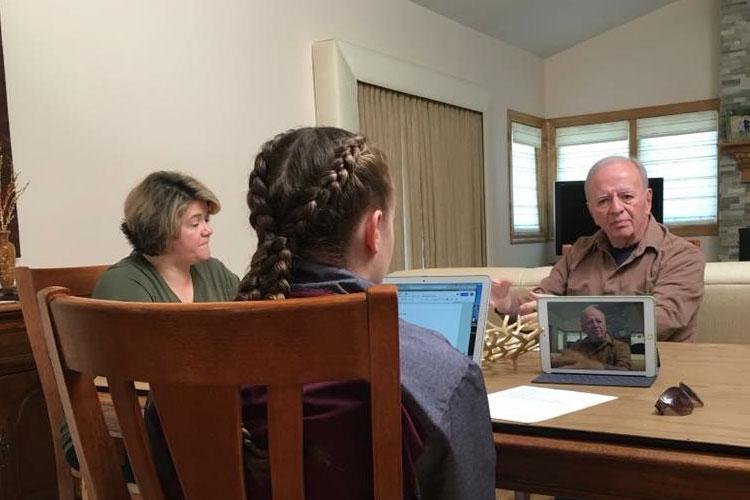Michele Schettino, Riley Norwood, and Joe Higgins