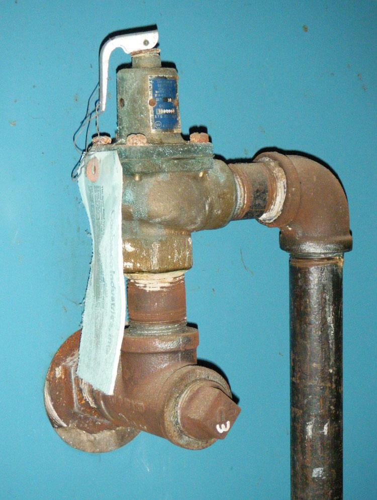 Modern pressure relief valve